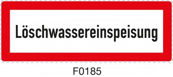 ISO 4066 - F0185 - Löschwassereinspeisung