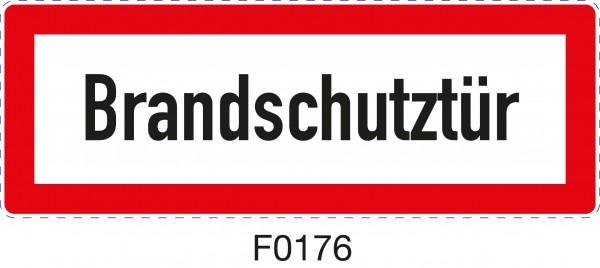 ISO 4066 - F0176 - Brandschutztür