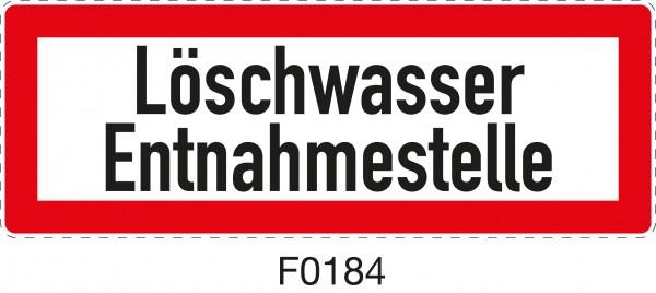 ISO 4066 - F0184 - Löschwasser Entnahmestelle