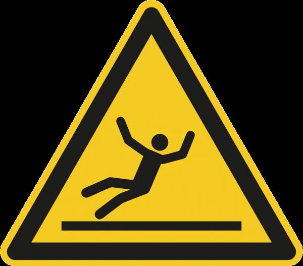"""Warnzeichen """"Warnung vor Rutschgefahr"""" W011"""