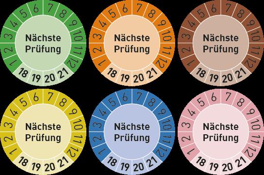 """Prüfplaketten """"Nächste Prüfung"""""""