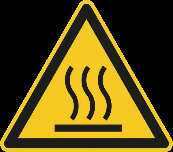 """Warnzeichen """"Warnung vor heißer Oberfläche"""" - W017"""