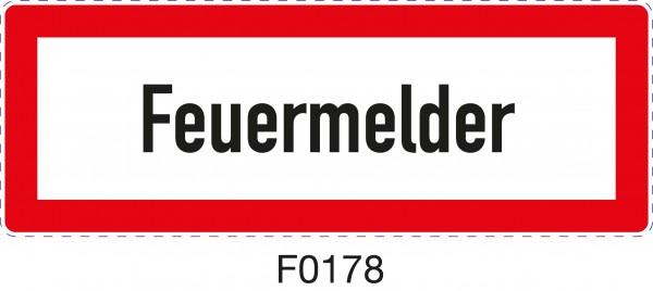 ISO 4066 - F0178 - Feuermelder