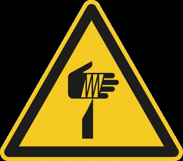 """Warnzeichen """"Warnung vor spitzem Gegenstand"""" W022"""