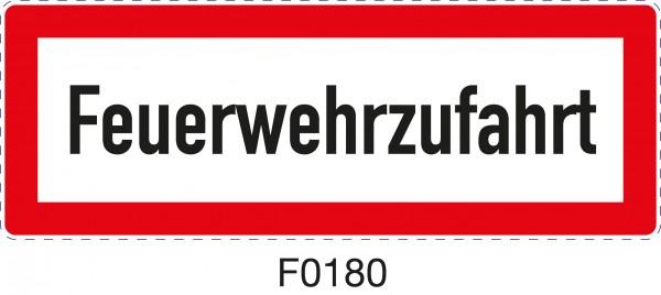 ISO 4066 - F0180 - Feuerwehrzufahrt