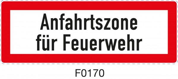 ISO 4066 - F0170 - Anfahrtszone für die Feuerwehr