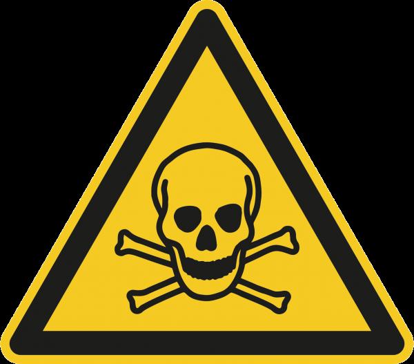 """Warnzeichen """"Warnung vor giftigen Stoffen"""" - W016"""