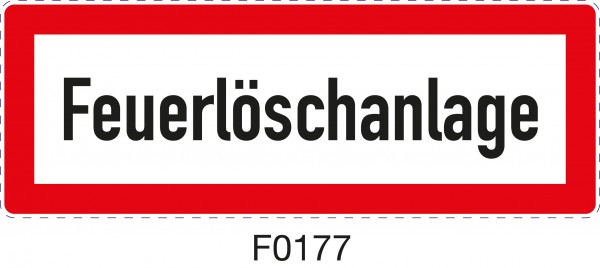 ISO 4066 - F0177 - Feuerlöschanlage