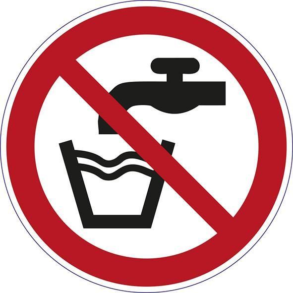 ISO 7010 - P005 - Kein Trinkwasser