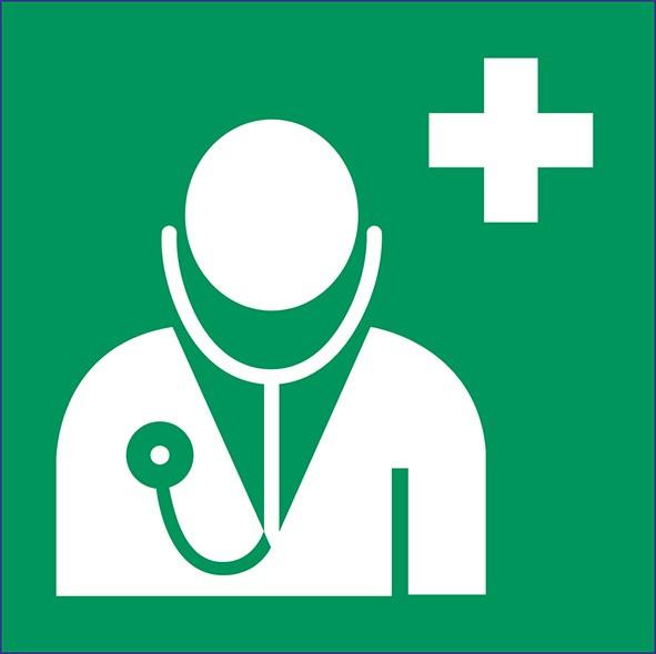 ISO 7010 - E009 - Arzt