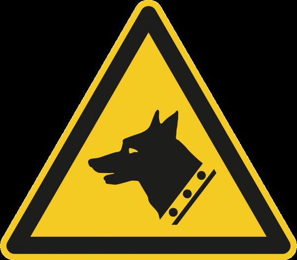 """Warnzeichen """"Warnung vor dem Wachhund"""" W013"""