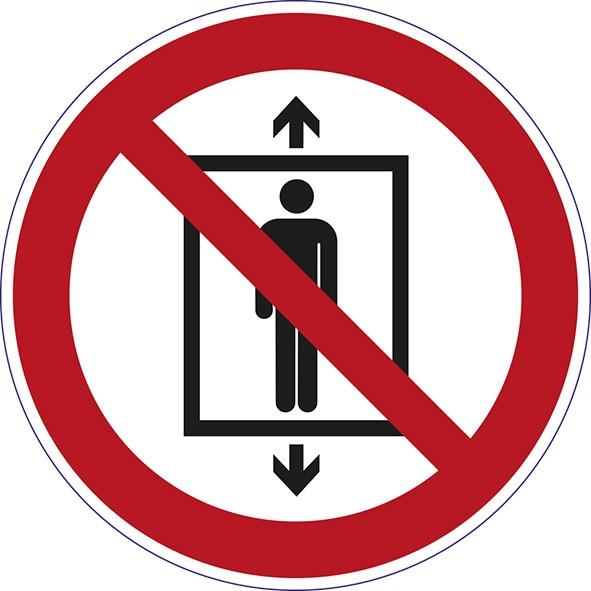 ISO 7010 - P027 - Personenbeförderung verboten