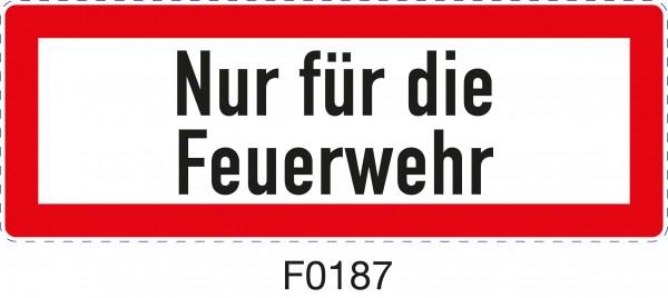 ISO 4066 - F0187 -Nur für die Feuerwehr