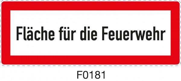 ISO 4066 - F0181 - Fläche für die Feuerwehr