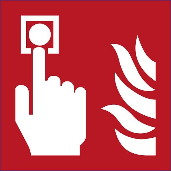 ISO 7010 - F005 - Feuermelder